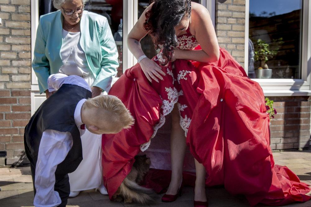 De bruid | het verhaal achter deze foto | Tilly fotografeert